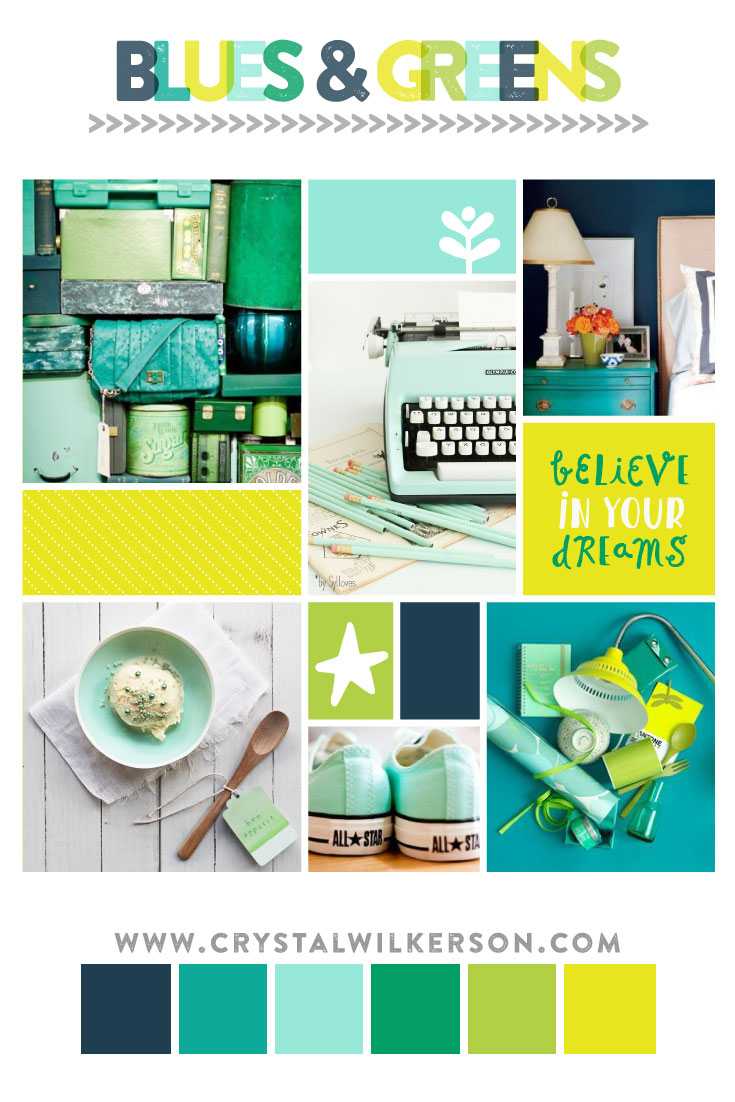 CW_MoodBoardMonday_Blues&Greens